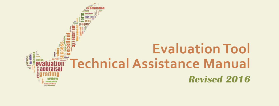 Technical Assistance Manual - Revised 2016